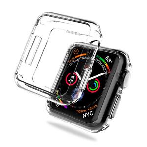 Купить Прозрачный TPU чехол oneLounge SilicolDots для Apple Watch Series 5/4 44mm, Цена 139 грн