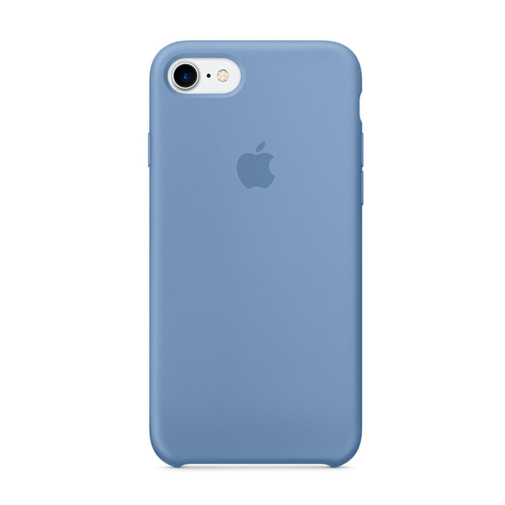 Силиконовый чехол iLoungeMax Silicone Case Azure для iPhone 7 | 8 | SE 2020 OEM