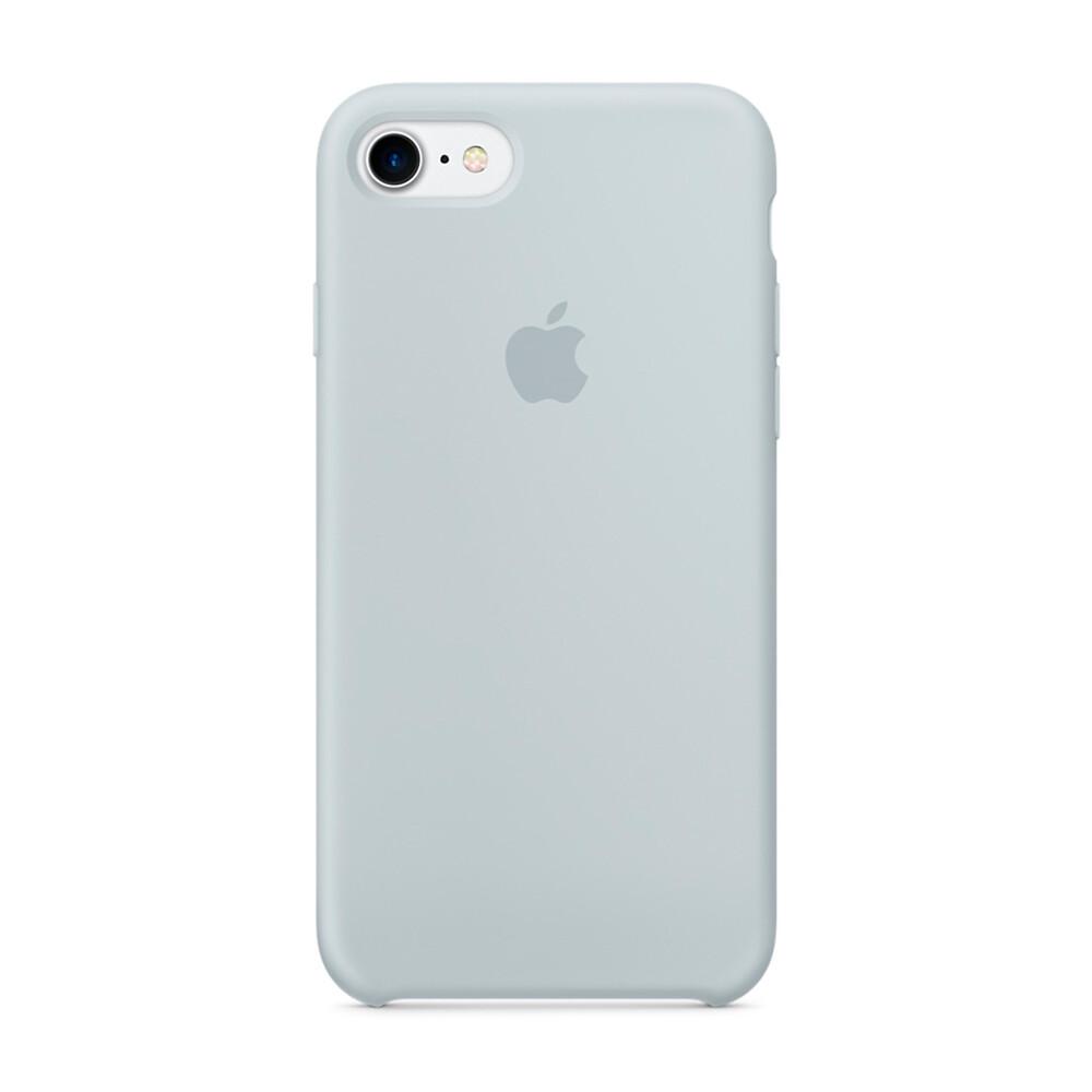 Силиконовый чехол iLoungeMax Silicone Case Mist Blue для iPhone 7 | 8 | SE 2020 OEM