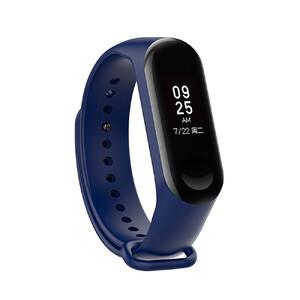 Купить Силиконовый ремешок oneLounge для фитнес-браслета Xiaomi Mi Band 3 Dark Blue