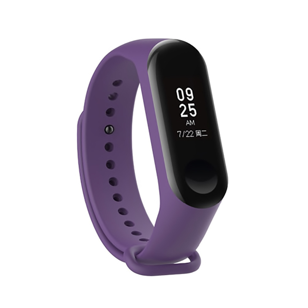 Купить Силиконовый ремешок iLoungeMax для фитнес-браслета Xiaomi Mi Band 3 | 4 Purple