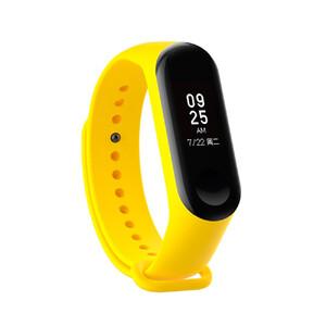 Купить Силиконовый ремешок для фитнес-браслета Xiaomi Mi Band 3 Yellow