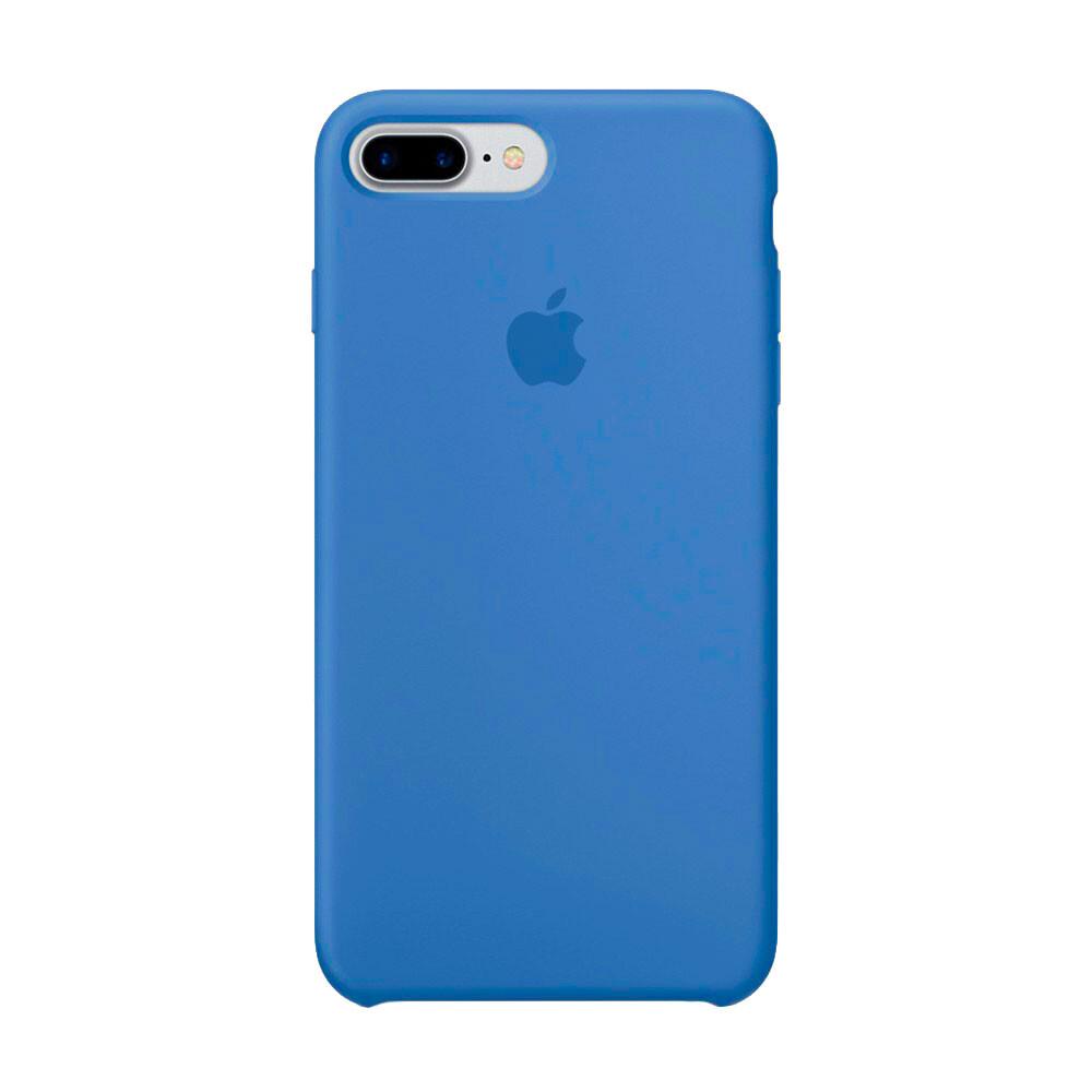 Силиконовый чехол iLoungeMax Silicone Case Azure для iPhone 7 Plus   8 Plus OEM (MQ0M2)