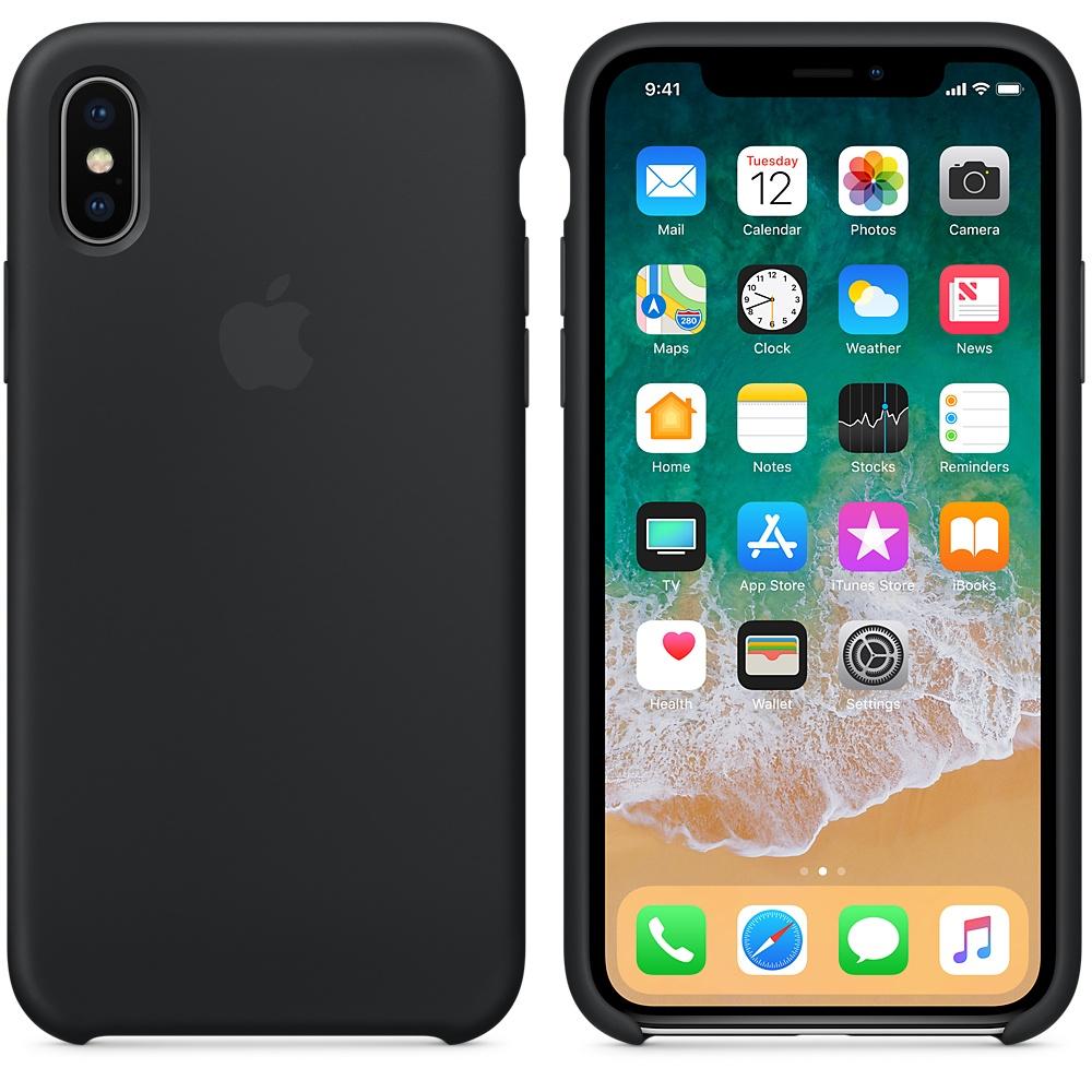 ... Силиконовый чехол Silicone Case OEM Black для iPhone X XS - Фото 3 ... 548a1069a3622