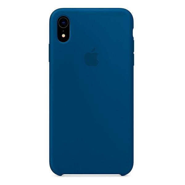 Силиконовый чехол iLoungeMax Silicone Case Blue Horizon для iPhone XR OEM