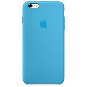 Купить Силиконовый чехол Silicone Case OEM Blue для iPhone 6/6s