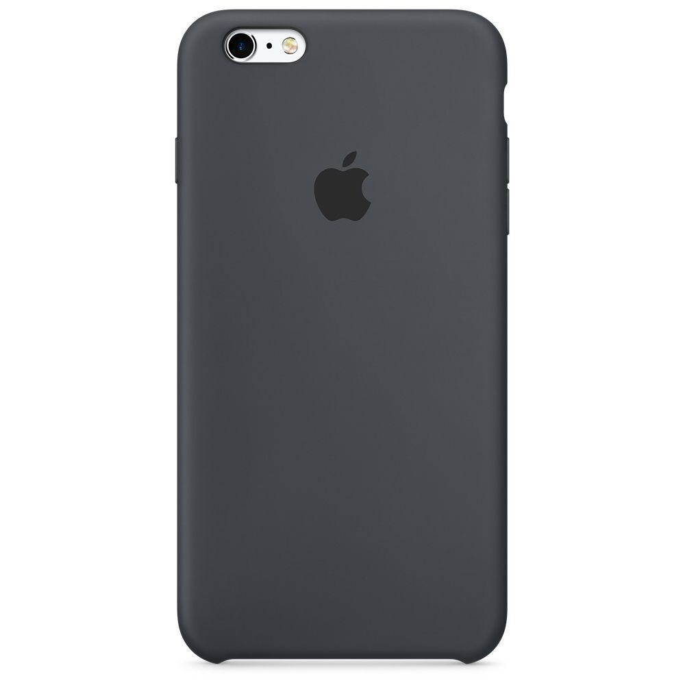 Силиконовый чехол oneLounge Silicone Case Charcoal Gray для iPhone 6 | 6s OEM