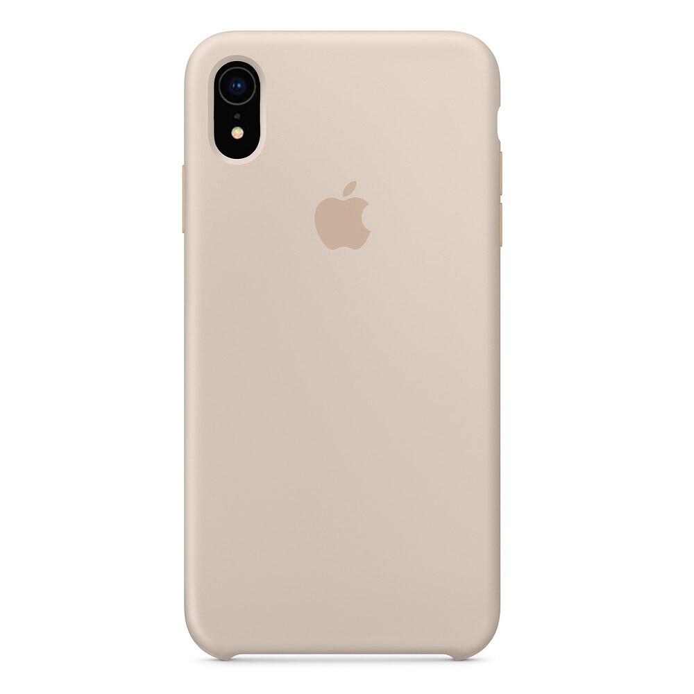 Силиконовый чехол Silicone Case OEM Stone для iPhone XR