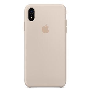 Купить Силиконовый чехол oneLounge Silicone Case Stone для iPhone XR OEM