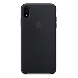 Купить Силиконовый чехол Silicone Case OEM Black для iPhone XR