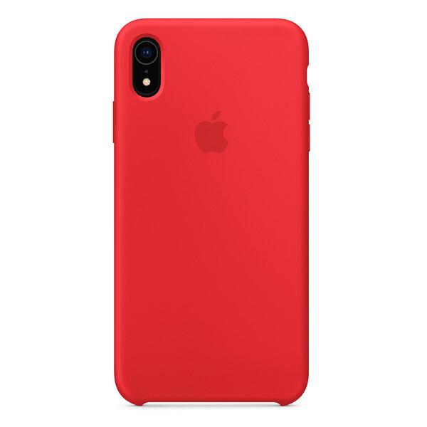 Силиконовый чехол iLoungeMax Silicone Case (PRODUCT) RED для iPhone XR OEM