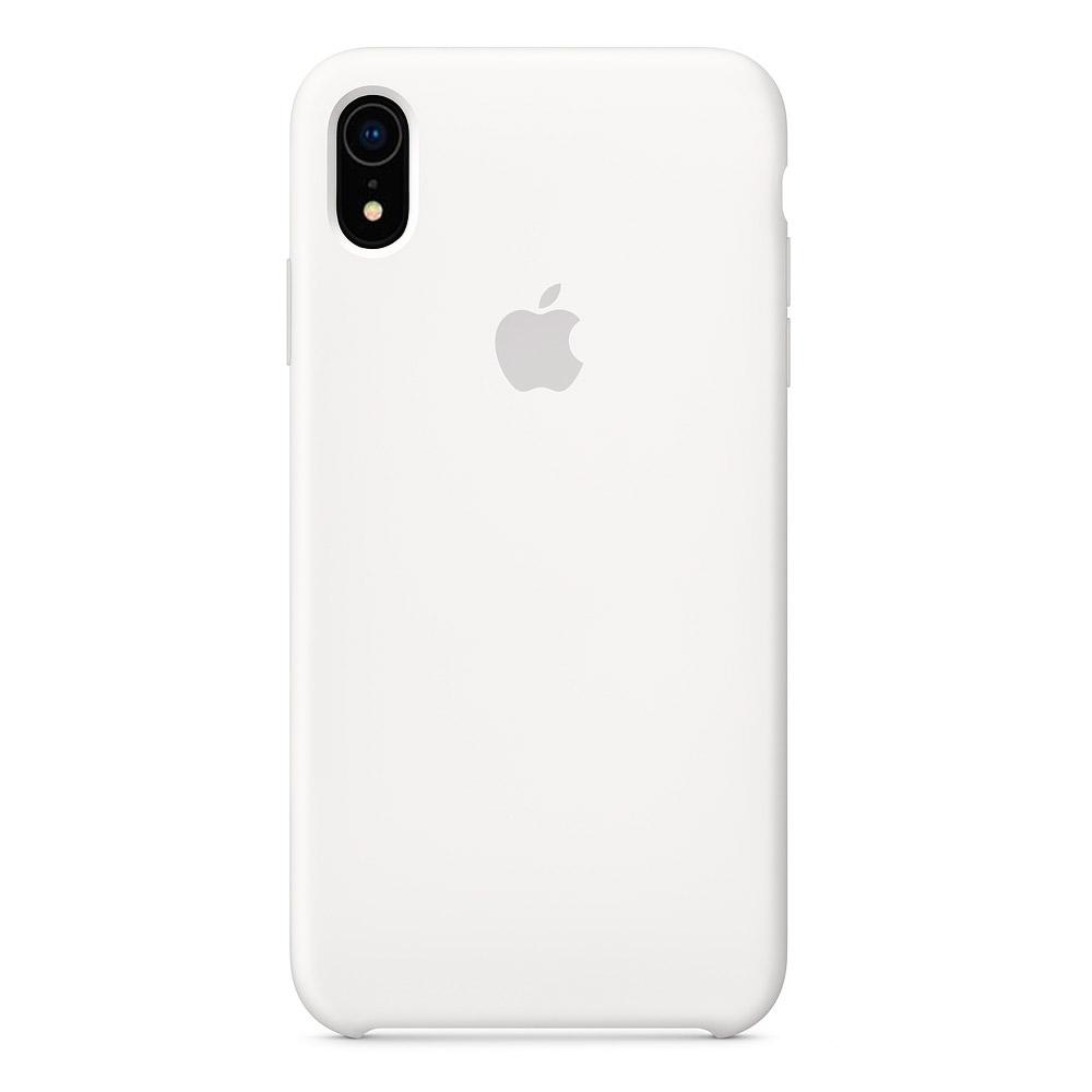 Купить Силиконовый чехол oneLounge Silicone Case White для iPhone XR OEM