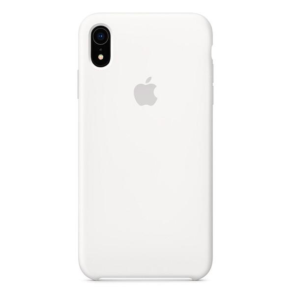 Силиконовый чехол iLoungeMax Silicone Case White для iPhone XR OEM