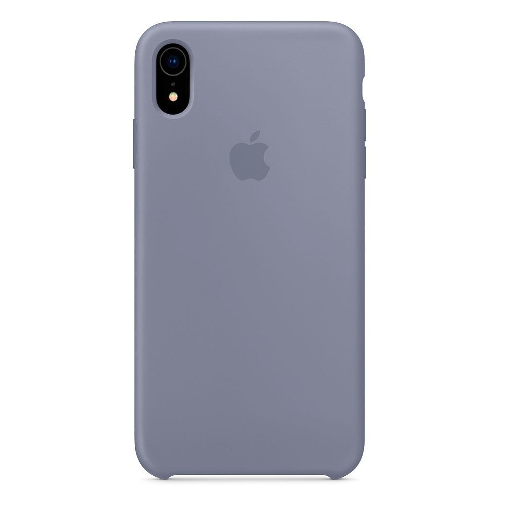 Купить Силиконовый чехол oneLounge Silicone Case Lavender Gray для iPhone XR OEM