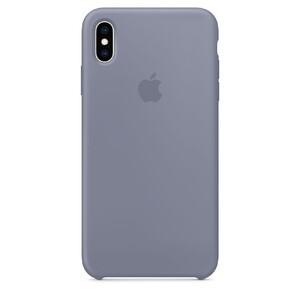 Купить Силиконовый чехол oneLounge Silicone Case Lavender Gray для iPhone XS Max (Лучшая копия Apple)