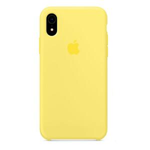 Купить Силиконовый чехол oneLounge Silicone Case Lemonade для iPhone XR OEM