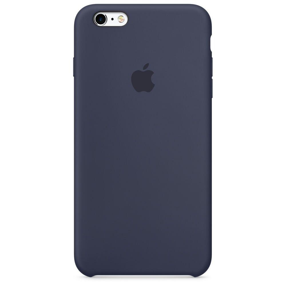 Силиконовый чехол oneLounge Silicone Case Midnight Blue для iPhone 6/6s (Лучшая копия)