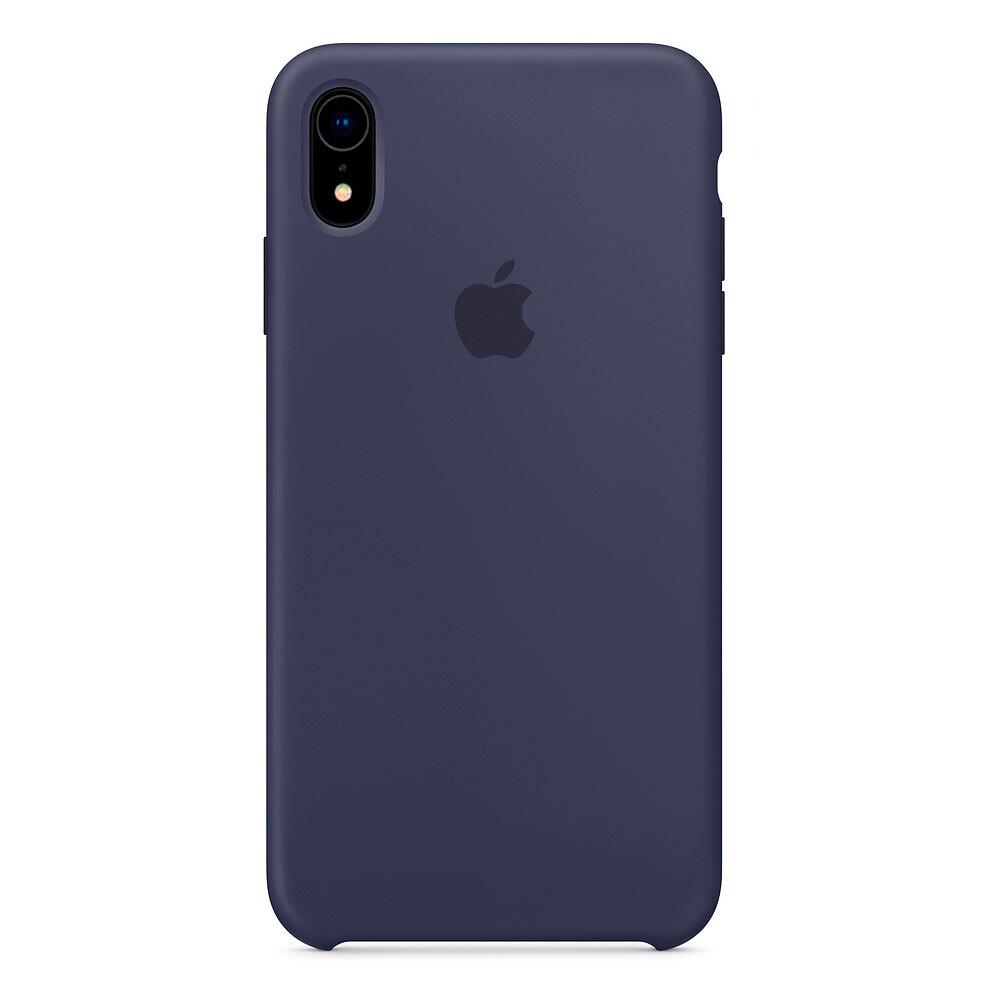 Силиконовый чехол iLoungeMax Silicone Case Midnight Blue для iPhone XR OEM
