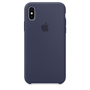 Купить Силиконовый чехол oneLounge Silicone Case Midnight Blue для iPhone XS Max OEM
