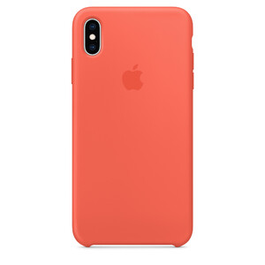 Купить Силиконовый чехол oneLounge Silicone Case Nectarine для iPhone XS Max OEM