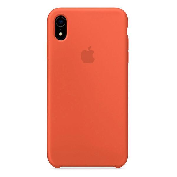Силиконовый чехол iLoungeMax Silicone Case Nectraine для iPhone XR OEM
