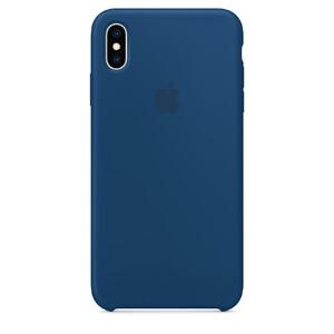 Купить Силиконовый чехол oneLounge Silicone Case Ocean Blue для iPhone XS Max OEM