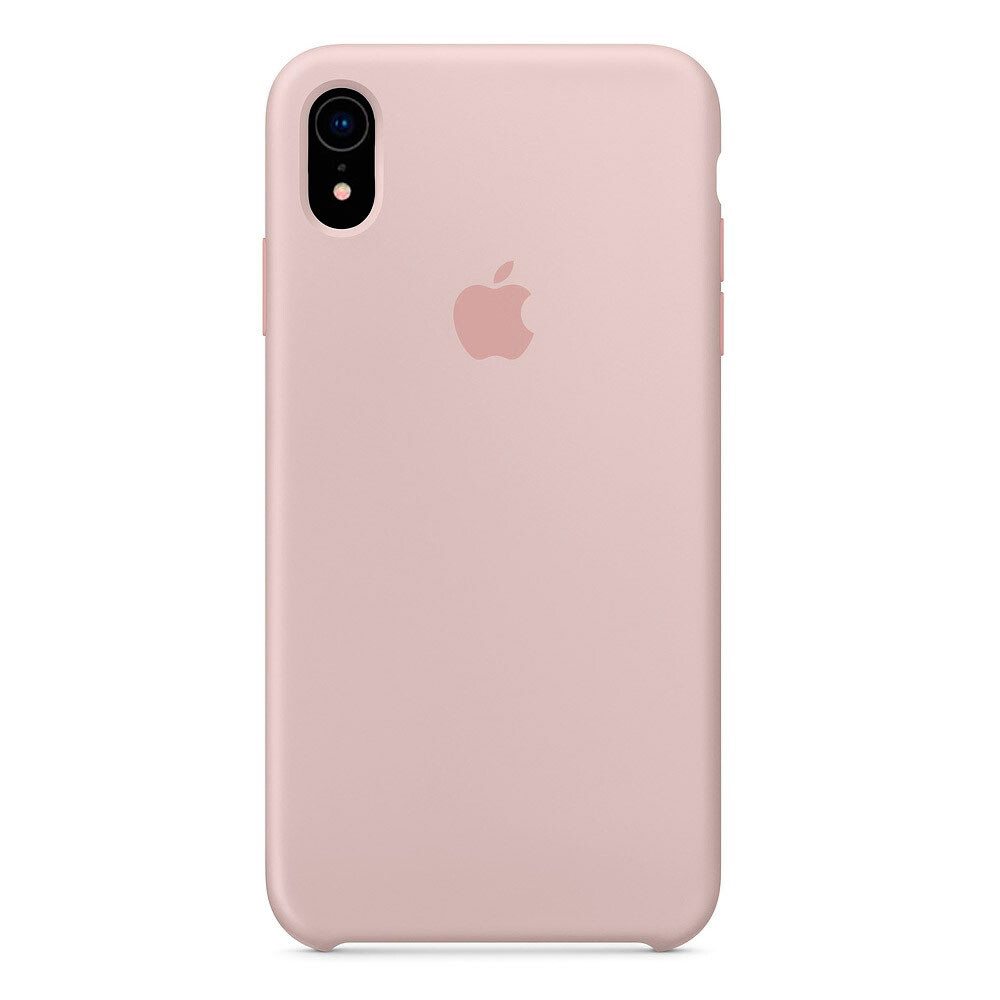 Силиконовый чехол iLoungeMax Silicone Case Pink Sand для iPhone XR OEM