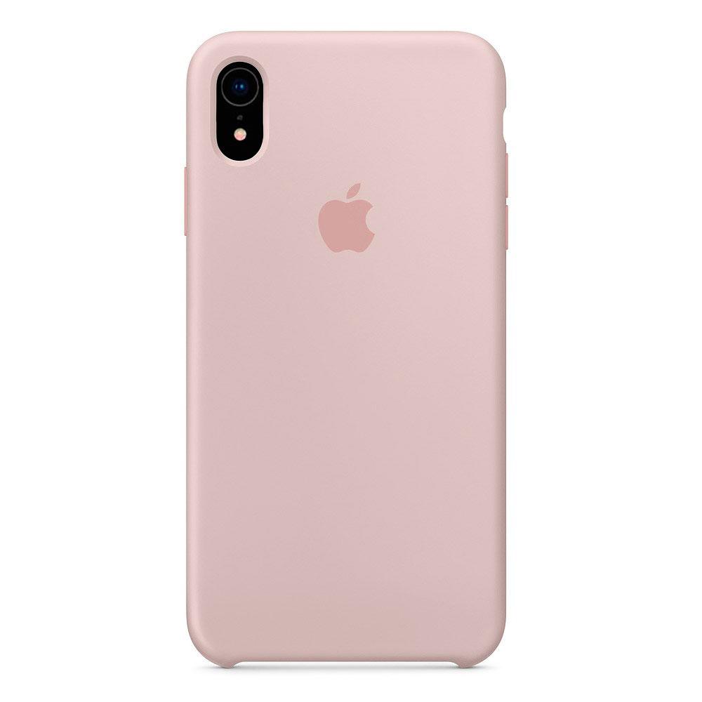 Купить Силиконовый чехол oneLounge Silicone Case Pink Sand для iPhone XR OEM