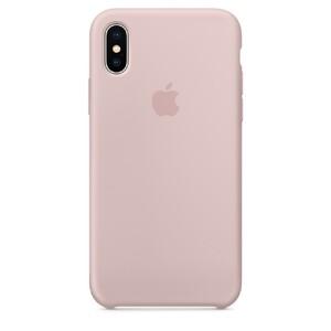 Купить Силиконовый чехол Silicone Case OEM Pink Sand для iPhone XS Max