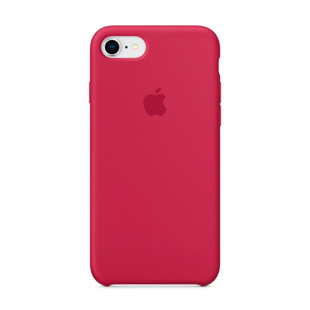 Силиконовый чехол iLoungeMax Silicone Case Rose Red для iPhone 7   8   SE 2020 OEM (MQGT2)