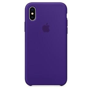 Купить Силиконовый чехол Silicone Case OEM Ultra Violet для iPhone XS Max