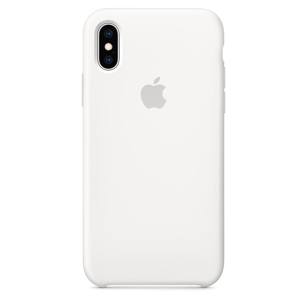 Купить Силиконовый чехол oneLounge Silicone Case White для iPhone X   XS OEM (MRW82)