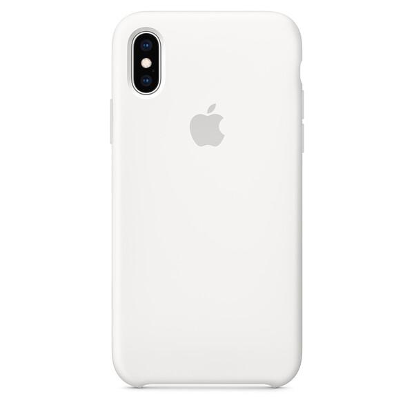 Силиконовый чехол iLoungeMax Silicone Case White для iPhone X   XS OEM (MRW82)