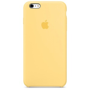 Купить Силиконовый чехол oneLounge Silicone Case Yellow для iPhone 6 Plus/6s Plus OEM