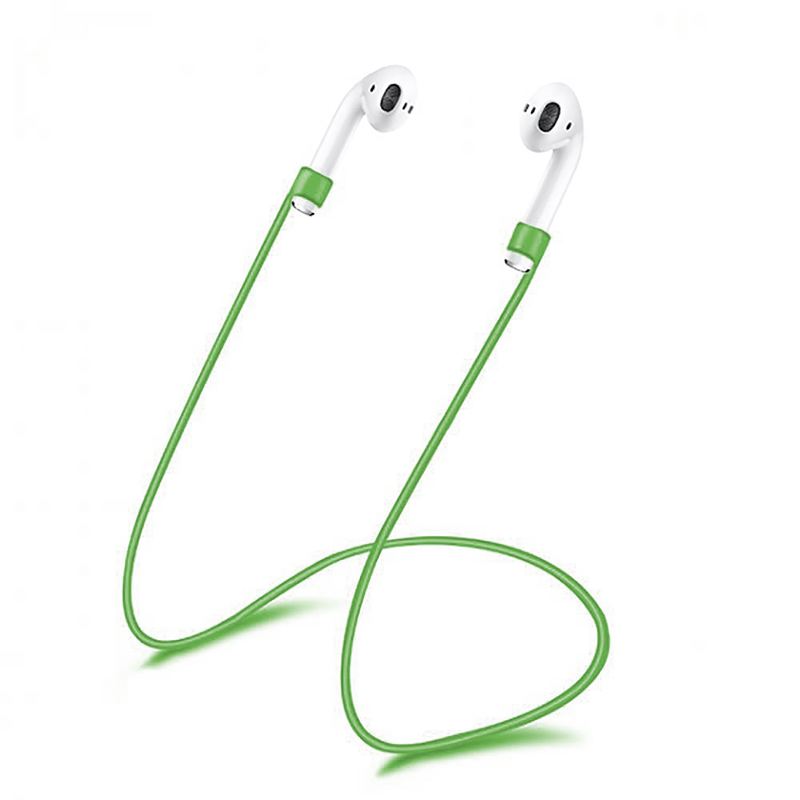 Купить Силиконовый шнурок для наушников oneLounge Apple AirPods Green