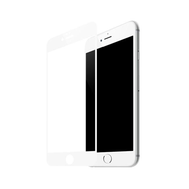 Защитное стекло Baseus Silk Screen Printed 0.2mm White для iPhone 7 Plus