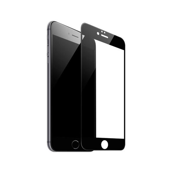 Защитное стекло Baseus Silk Screen Printed 0.2mm Black для iPhone 7 Plus   8 Plus