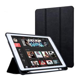 """Купить Чехол с держателем для стилуса oneLounge Protective Smart Cover Black для iPad 9.7""""(2017/2018)"""