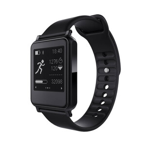 Спортивные часы с пульсометром iWown i7 Black/Black