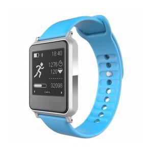 Купить Спортивные часы с пульсометром iWown i7 Silver/Blue