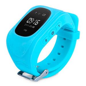 Купить Детские часы-телефон с GPS-трекером Q50 Голубые