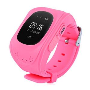 Купить Детские часы-телефон с GPS-трекером Q50 Розовые