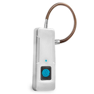 Купить Биометрический умный замок WIWU Fingerprint Padlock