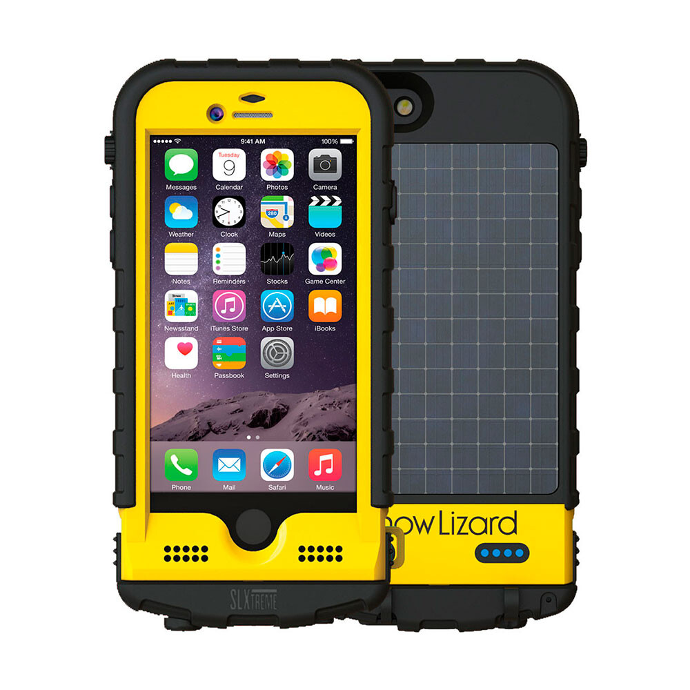 Мега-чехол SnowLizard SLXTREME 6 Yellow для iPhone 6/6s