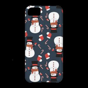 Купить Чехол BartCase Snowmen для iPhone 5C