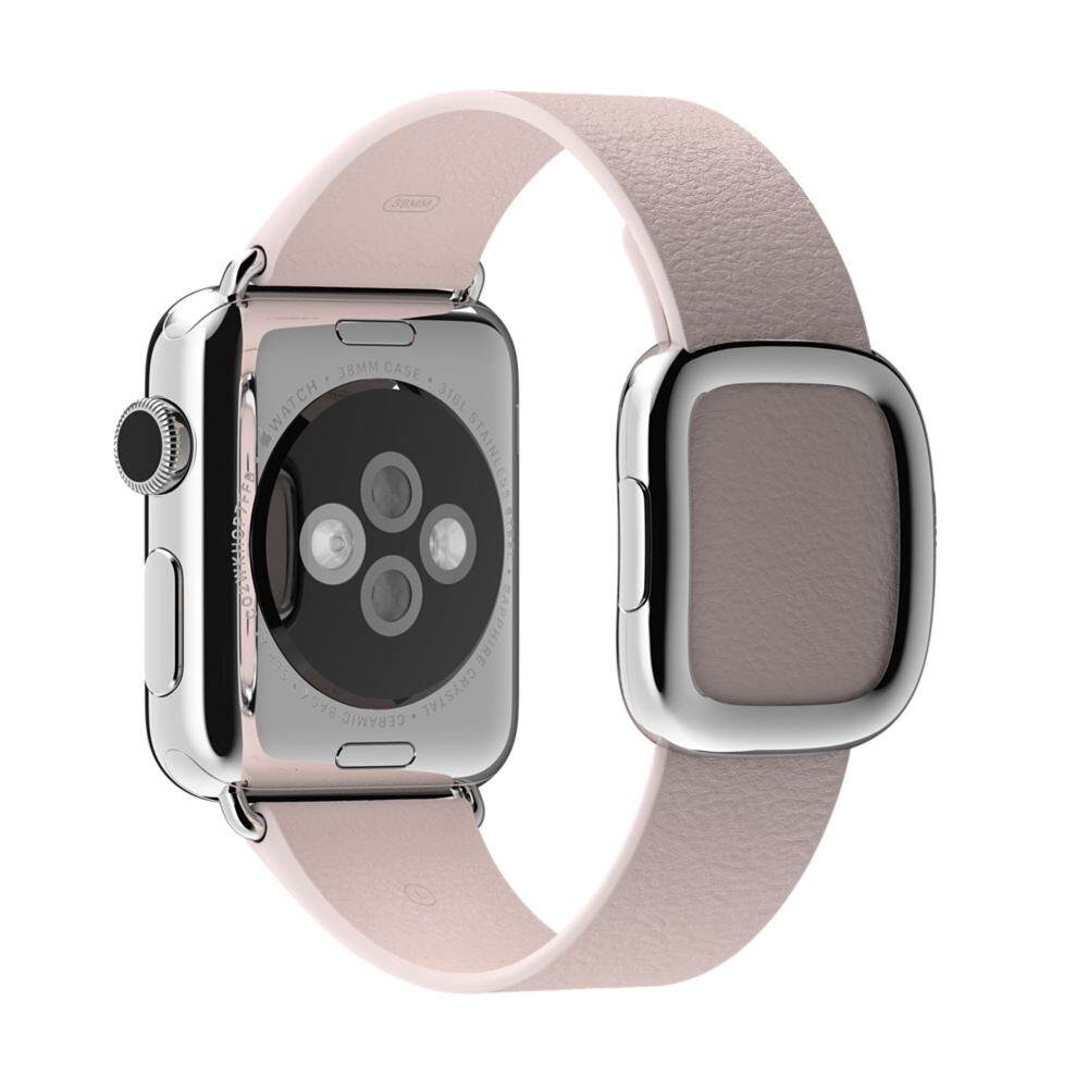 Ремешок Apple 38mm Soft Pink Modern Buckle (MJ572) Medium для Apple Watch Series 1/2