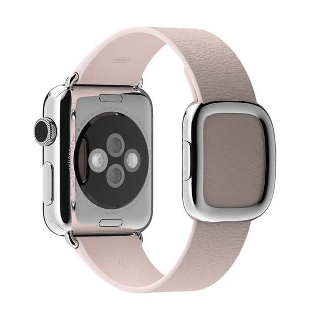 Ремешок Apple 38mm Soft Pink Modern Buckle (MJ572) для Apple Watch