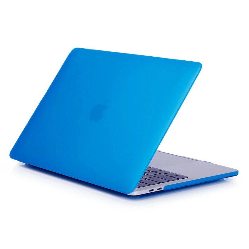"Пластиковый чехол oneLounge Soft Touch Matte Blue для MacBook Pro 13"" (2016-2019)"