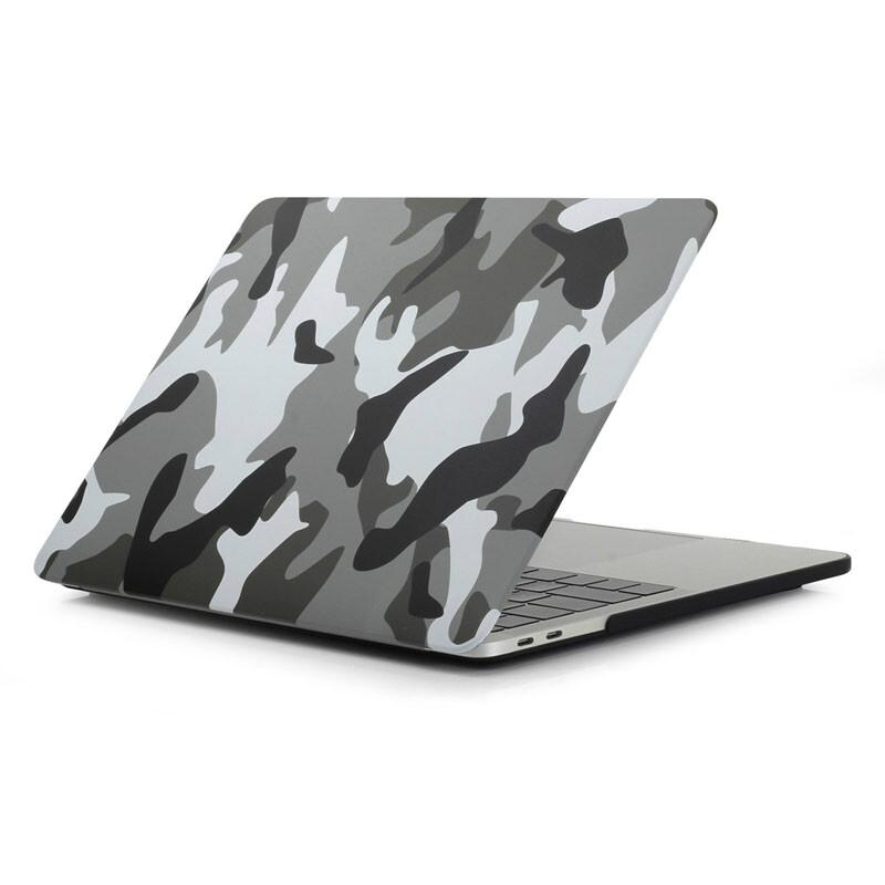 """Пластиковый чехол iLoungeMax Soft Touch Matte Camouflage Grey для MacBook Pro 13"""" (2016-2019)"""