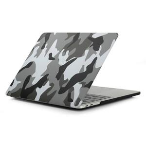 Купить Пластиковый чехол Soft Touch Matte Camouflage Grey для MacBook Pro 13'' (2016/2017/2018)
